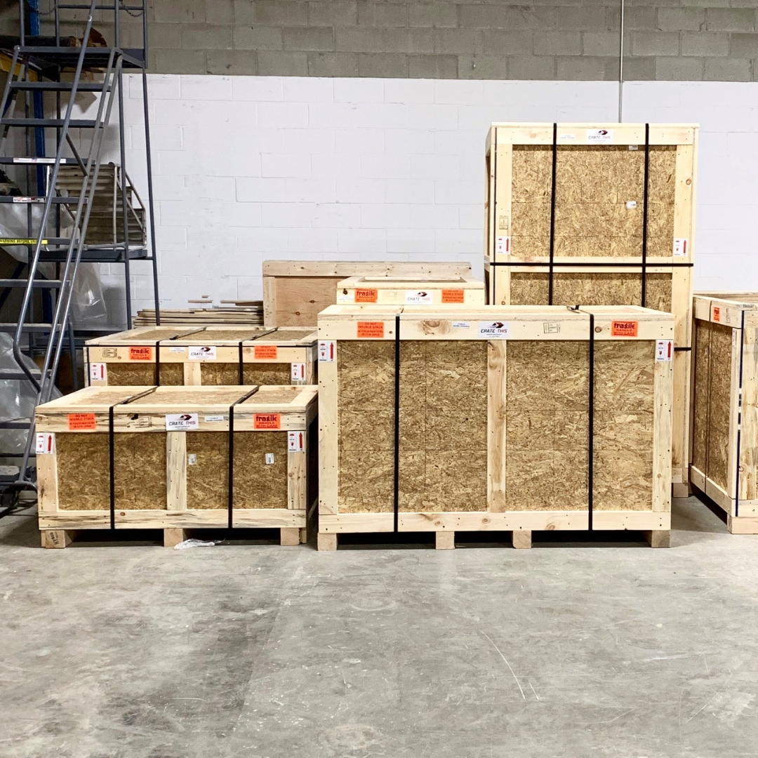 Custom Wooden Crate & Packaging Services   Crate This