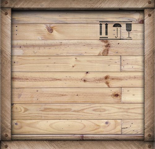 A wooden Crate